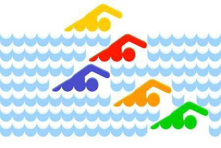 Image result for swimming carnival clipart""